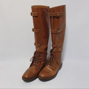VTG Ralph Lauren Leather Luxury Unisex Riding Boot